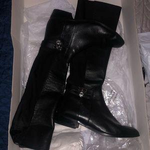 Michael Kors Hamilton Tall Leather Boot